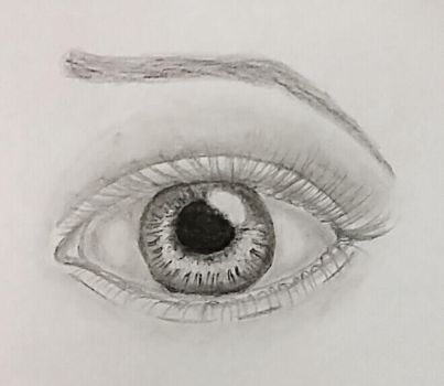 Eye Sketch by AutumnViolets