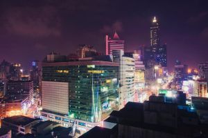 View of Kaohsiung by asianpride7625