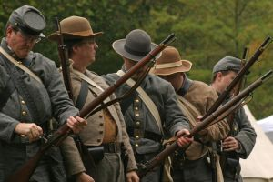 Civil War Reenactors by Brittany003