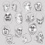 Faces by pixel-putty