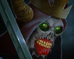 The Lich sketch (Adventuretime fan art) by dikiminster