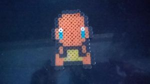 Charmander perler by Cosplaying-Squirtle