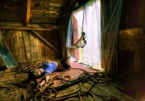 In the Barn by IraMustyPhotography