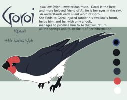 .: Goroi Sheet Reference :. by PirateHearts