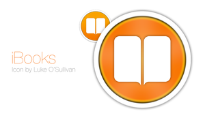 iBooks iOS 7 Style OSX icon by Luke O'Sullivan by osullivanluke