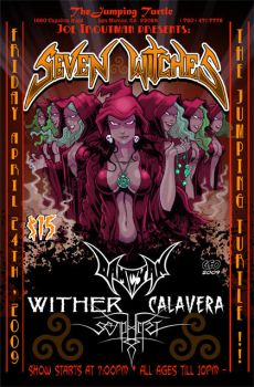 mETAL sHOW pOSTER 01 by Tikigeo