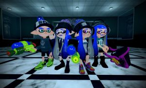 Blu Inkling's Team (Splatoon in the Nutshell 6.5) by Geoffman275