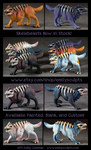 Skelebeasts Now Available! by emilySculpts