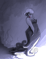 Ursula Backstory by MallorySmallory