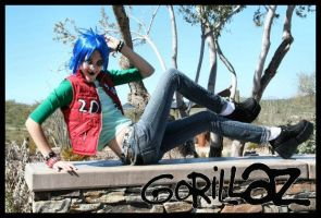 2D and his silly hotness by LiebestodBlut