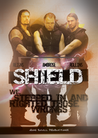 WWE - THE SHIELD poster by TheIronSkull
