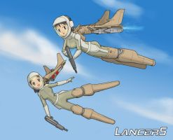 Cradle Lancers-Air Division by OtakuBouzu