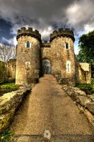 Whittington Castle in HDR by CharmingPhotography