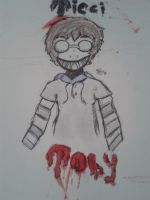 Ticci Toby [Coloured] by spidersarecoming