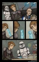 "Clone Wars Comic ""Transfer""1 by katiecandraw"