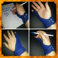 Stylish Writing / Artist Glove by DesignKReations
