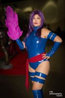 Psylocke Cosplay at Comikaze 2014 by CarolineCosplay
