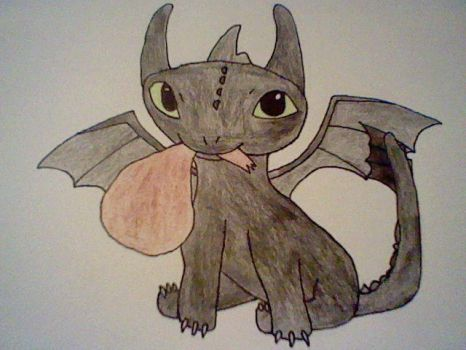 Toothless by icewolf14