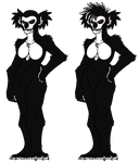 Koaladopt- Spooky Scary Skeleton for Shoopuff by CNena
