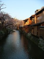 Gion Canal by calger459