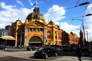 Flinders St Station by munchinees