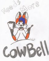 Needs More Cowbell by KyteTheFox