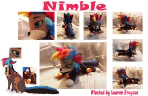 Plush Commission  .:Nimble:. by Lfraysse