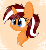 Orange Cane Chibi by ShyShyOctavia