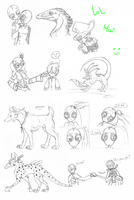 Sketch Requests-Bundle 2 by KeptinKeem