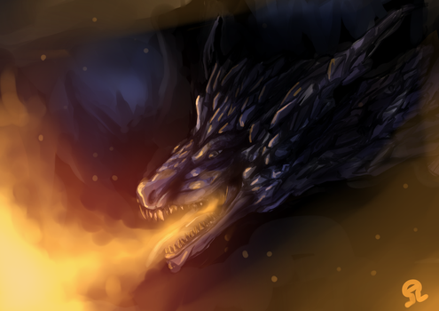 Darkeater Midir by Anzhyra