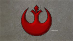 Rebel Alliance Starbird Symbol by Dave-Daring