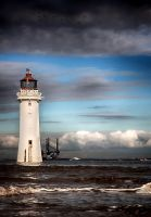 New Brighton Lighthouse version 2 by CharmingPhotography