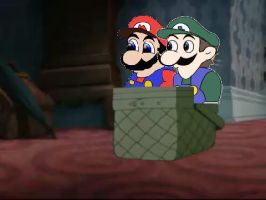 Malleo And Weegee In LATT by NinSeMarvel