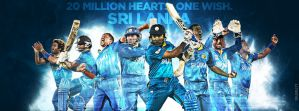 Sri Lanka Cricket #WT20 facebook cover by i-am-71