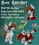 [Adopt Auction Over] MLP Hood Hatchet by Dare2DreamMedia