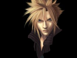 Cloud Strife - unfinished by clingwrap