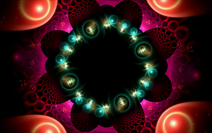colourful bubble pattern by Andrea1981G
