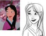 Fa Mulan (Sketch) by Pittsdolls
