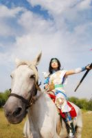 Dynasty Warriors4  ZhaoYun by Rina-Liu