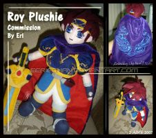 Roy Plushie commision by eERIechan