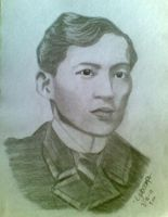 Jose Rizal by LaraJoy