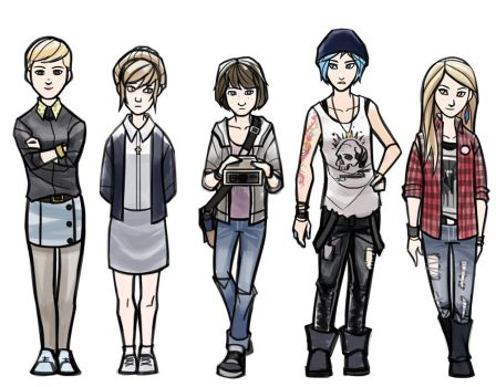 Life Is Strange Ladies by ex-m