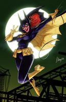 Batgirl swings again!!!! by JJKirby