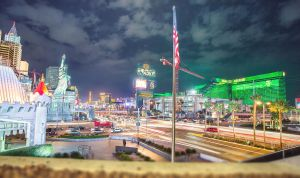 Las Vegas Strip at night by Torsten-Hufsky