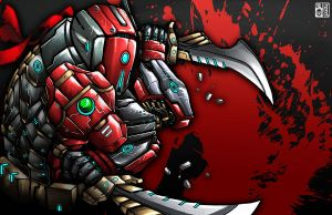 red roboto by peterete