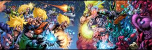 DBZ WAR COLORED by CdubbArt