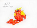 Stella, Poinsettia Dragon by rosepeonie