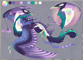 Design Auction [Sold] - Bird Dragon by KiRAWRa