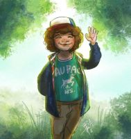 Stranger Things - Dustin by obscureBT