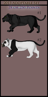 Female Adoptables. by X-ArtisticCreations
